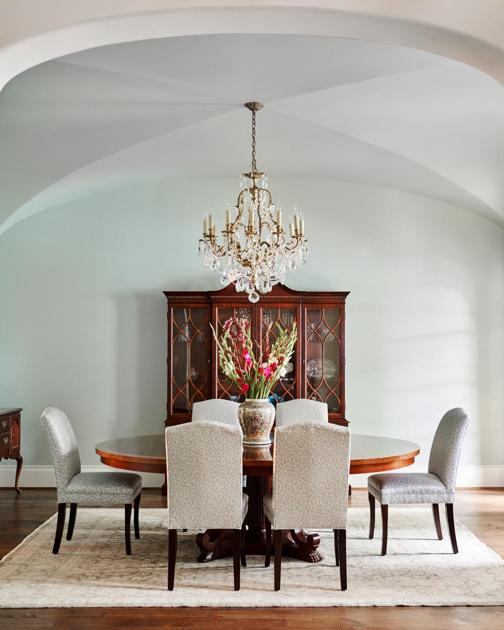 dining room designer dallas